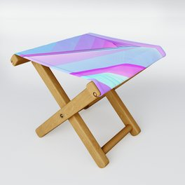 abstract art Folding Stool
