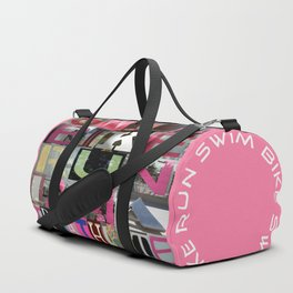 SWIM BIKE RUN I AM A TRIATHLETE 02 Duffle Bag