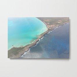 Eleuthera Island in the Bahamas Metal Print