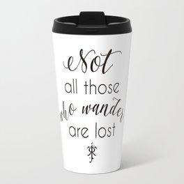 Tolkien Quote Travel Mug