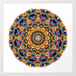 Radiate 001 Art Print