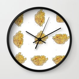 Crisp bowl bywhacky Wall Clock