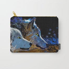 THE WOLF YOU KNOW Carry-All Pouch