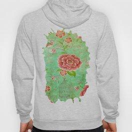 Grunge Floral Pattern 05 Hoody