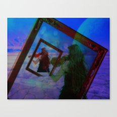 Into the Blue 'Analog Zine' Canvas Print