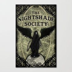 The Nightshade Society Canvas Print