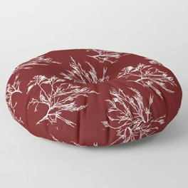 Seaweed Pattern Floor Pillow