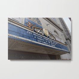 Pittsburgh Tour Series - Theatre Marquee Metal Print