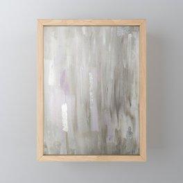 Lavender & Silver Framed Mini Art Print