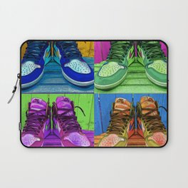 Sneaker Popart Laptop Sleeve
