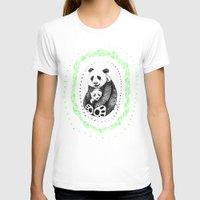pandas T-shirts featuring PANDAS! by Sagara Hirsch
