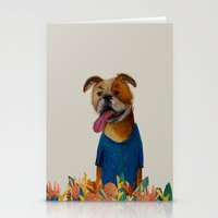 chelsea Stationery Cards featuring Chelsea Girl by Jade Young Illustrations