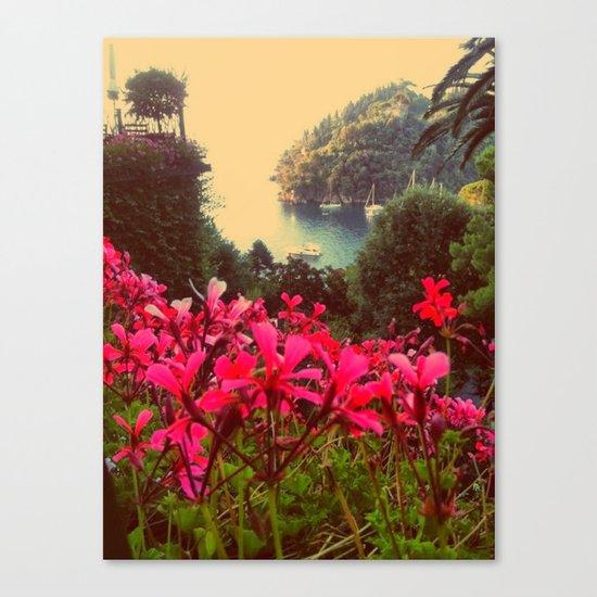 A little piece of paradise Canvas Print