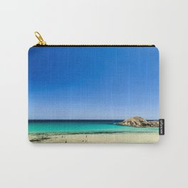 The beach of Chia su Giudeu, Sardinia Carry-All Pouch