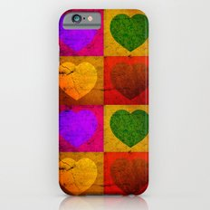 FOUR HEARTS FOR VALENTINE'S DAY iPhone 6s Slim Case