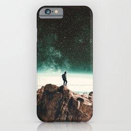Intergalactic Adventure Awaits iPhone Case