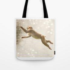 Monkey Jump Tote Bag
