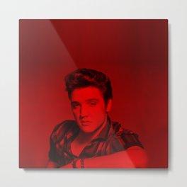 Elvis Presley - Celebrity (Photographic Art) Metal Print