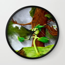 Growth of a seed Wall Clock
