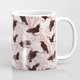 Crows pattern Coffee Mug