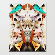 WHAT THE FOX SAY Canvas Print