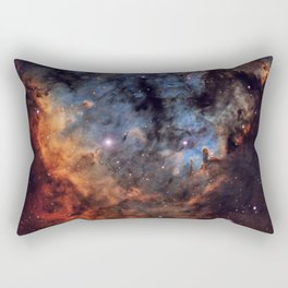 The Devil Nebula Rectangular Pillow