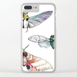 Bugged Out Clear iPhone Case