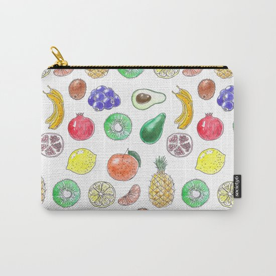 Tropical fruit Carry-All Pouch