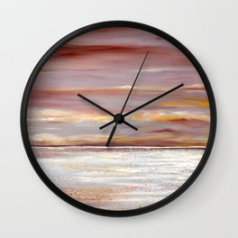 Ferry Boat View Wall Clock