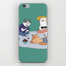 Picnic iPhone Skin