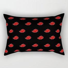 Akatsuki Logo White Line Rectangular Pillow