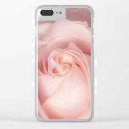 Autumn Rosie Clear iPhone Case