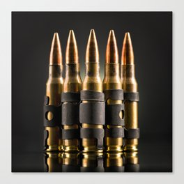 Bullets Canvas Print