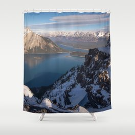 Kananaskis Improvement District Alberta Canada Ultra HD Shower Curtain