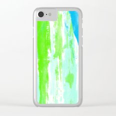 Fresh Paint Clear iPhone Case