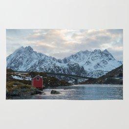 Lofoten winter Rug