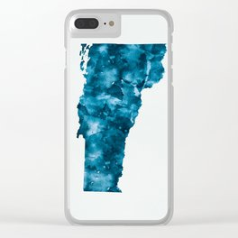 Vermont Clear iPhone Case