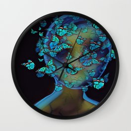 Bottled Thought Wall Clock
