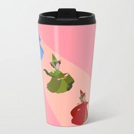3 Fairies (Pink) Travel Mug