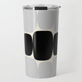 Abstraction_Balance_ROCKS_BLACK_WHITE_Minimalism_001 Travel Mug
