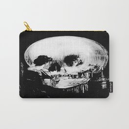 All Is Vanity: Halloween Life, Death, and Existence Carry-All Pouch
