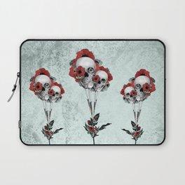 Evolution of poppies.  Laptop Sleeve