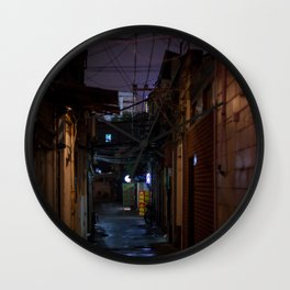 Lilac alley Wall Clock