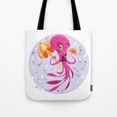 Miss Octopus Tote Bag