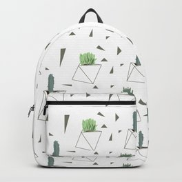 Succulents and Triangles Backpack