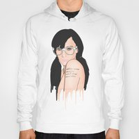 glasses Hoodies featuring Glasses by Jasocorp