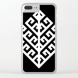 Yggdrasil - White Clear iPhone Case