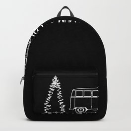 Do What Makes You Happy Camping Backpack