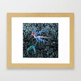 The Bait Framed Art Print