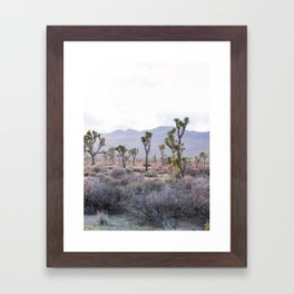 Joshua Tree Diptych [Right Side] Framed Art Print
